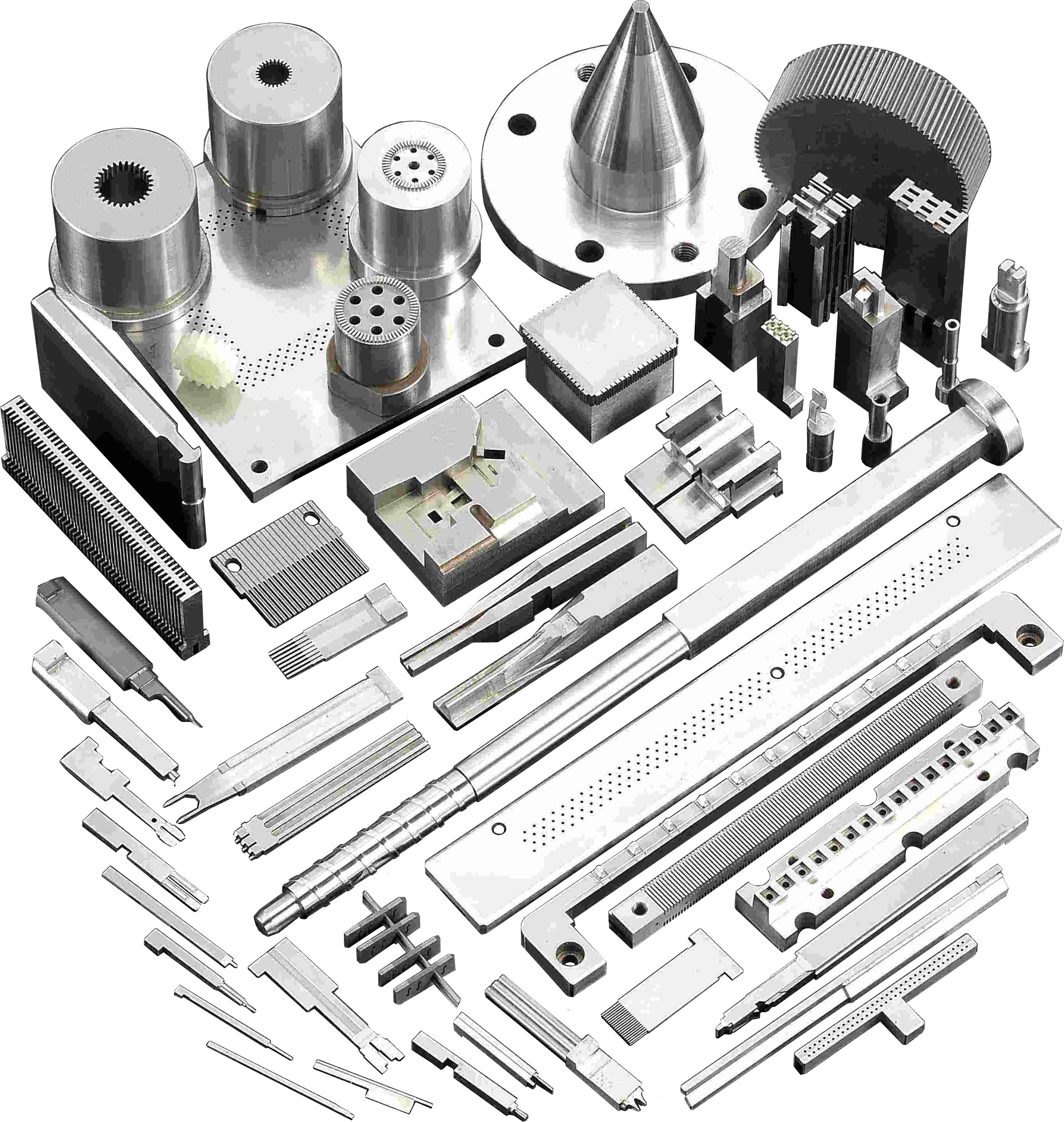 Digital Controlled Lathe Parts